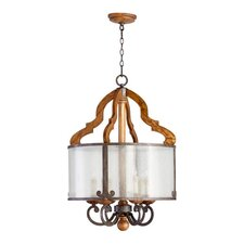 Ashford 6 Light Drum Pendant