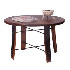<strong>2 Day Designs, Inc</strong> Round Stave Coffee Table