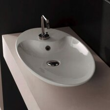 <strong>Scarabeo by Nameeks</strong> Shape Above Counter Single Hole Bathroom Sink