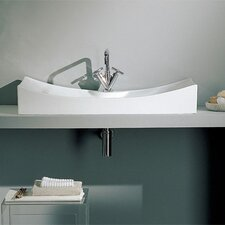 <strong>Scarabeo by Nameeks</strong> Tsunami Above Counter Single Hole Bathroom Sink