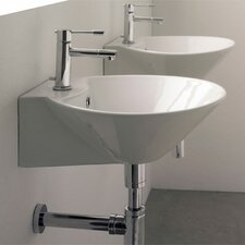 Cono Wall Mounted Bathroom Sink