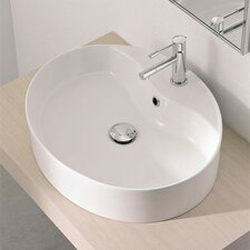 Wind Above Counter Single Hole Bathroom Sink