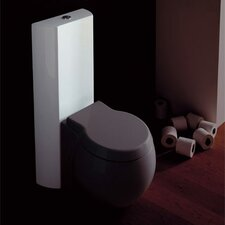 <strong>Scarabeo by Nameeks</strong> Planet Floor Mounted Round 2 Piece Toilet
