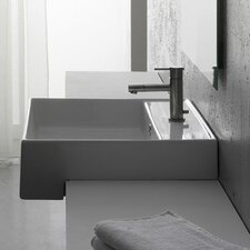 <strong>Scarabeo by Nameeks</strong> Teorema Semi Recessed Single Hole Bathroom Sink