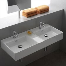 <strong>Scarabeo by Nameeks</strong> Teorema Wall Mounted Bathroom Sink