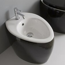 "<strong>Scarabeo by Nameeks</strong> Moai 16.1"" Floor Mount Bidet"