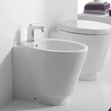 "<strong>Scarabeo by Nameeks</strong> Wish 13.8"" Floor Mount Bidet"