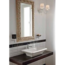 "Line 35"" Bathroom Wood Console Vanity Top"