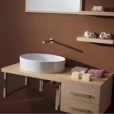"Brio 29"" Single Wall Mounted Bathroom Vanity Set"