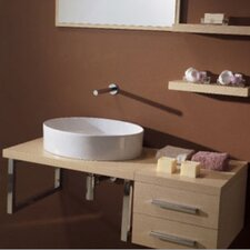"<strong>Scarabeo by Nameeks</strong> Brio 29.4"" Wall Mounted Bathroom Vanity Set"