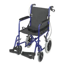 "19"" Lightweight Transport Wheelchair"