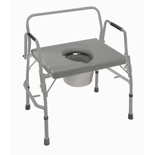 Bariatric Extra-Wide Drop Arm Commode
