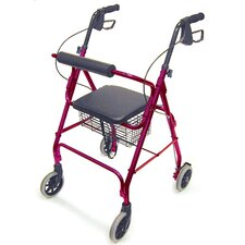 "<strong>Briggs Healthcare</strong> Ultra Lightweight Aluminum Rollator with 6"" Wheels"