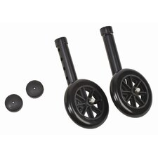 Non-Swivel Wheel / Cap (Set of 2)