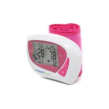 Healthsmart Women's Automatic Wrist Digital Blood Pressure Monitor in Pink