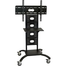 "<strong>H. Wilson Company</strong> 51"" Flat Panel Stand (Includes WFST) with 4"" Casters (32"" - 50"" Screens)"
