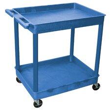 Two Shelf Tub Cart
