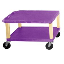 "<strong>H. Wilson Company</strong> Tuffy 16"" 2-Shelf Utility Cart"