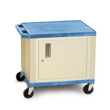 "<strong>H. Wilson Company</strong> Tuffy 26"" Cart with Cabinet and Legs"