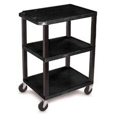 "34"" Commercial Busing Cart"