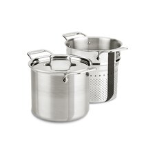 d5 Brushed Stainless Steel 7-qt. Multi Pot