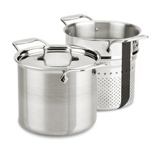 <strong>All-Clad</strong> d5 Brushed Stainless Steel 7-qt. Multi Pot