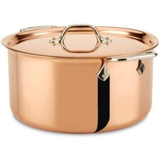 c2 Copper Clad 8-qt. Stock pot with Lid