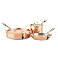 c2 Copper Clad 5-Piece Cookware Set