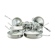 <strong>All-Clad</strong> Copper Core 14-Piece Cookware Set