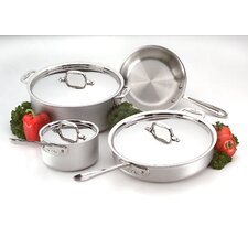 <strong>All-Clad</strong> Master Chef 2 7-Piece Cookware Set