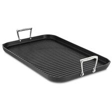 "<strong>All-Clad</strong> Hard Anodized 13"" x 20"" Nonstick Grande Grille"