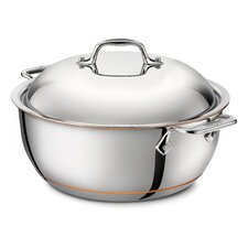 Copper Core 5.5-qt. Dutch Oven with Lid