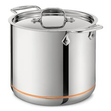 Copper Core 7-qt. Stock Pot with Lid