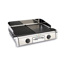 "Stainless Steel 11"" Nonstick Griddle"