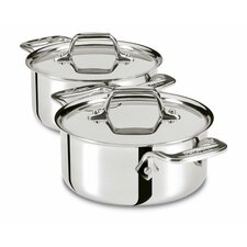 <strong>All-Clad</strong> 0.5-qt. Cocottes with Lids (Set of 2)