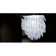 Avir Large Semi Flush Mount