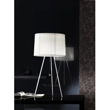 """Obi 32.63"""" H Table Lamp with Drum Shade"""