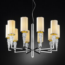 Subzero 10 Light Chandelier