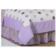 Mod Dots Queen Bed Skirt