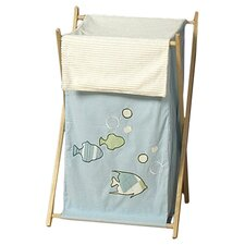 <strong>Sweet Jojo Designs</strong> Go Fish Laundry Hamper