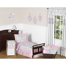 Pink and Gray Elizabeth Toddler Bedding Collection