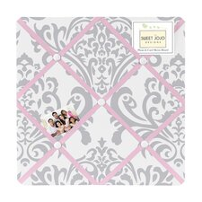 <strong>Sweet Jojo Designs</strong> Pink and Gray Elizabeth Memo Board