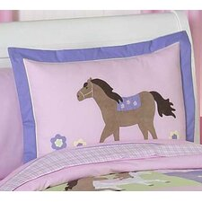 <strong>Sweet Jojo Designs</strong> Pony Standard Pillow Sham