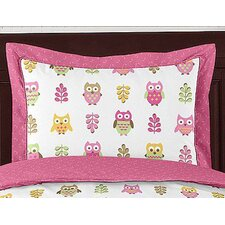 <strong>Sweet Jojo Designs</strong> Happy Owl Standard Pillow Sham