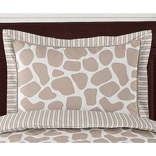 <strong>Sweet Jojo Designs</strong> Giraffe Standard Pillow Sham