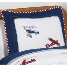 <strong>Sweet Jojo Designs</strong> Vintage Aviator Standard Pillow Sham