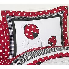 <strong>Sweet Jojo Designs</strong> Little Ladybug Standard Pillow Sham