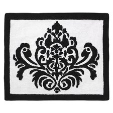 Isabella Hot Pink, Black and White Collection Floor Rug