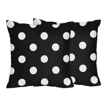 Hot Dot Accent Pillow (Set of 2)