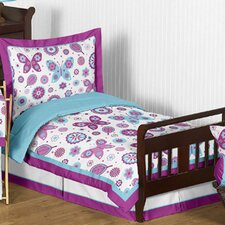 Spring Garden 5 Piece Toddler Bedding Set